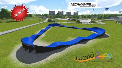 Újdonság cégünknél :  Kerékpáros játszótér – Pumptrack
