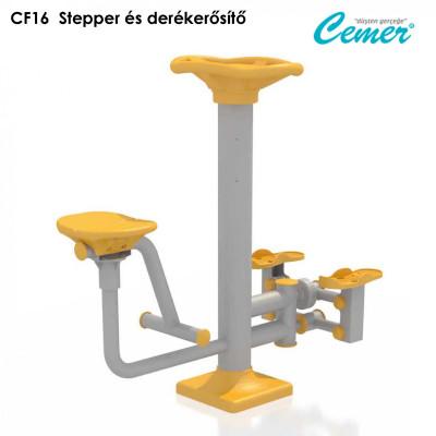 CF16  Stepper és derékerősítő