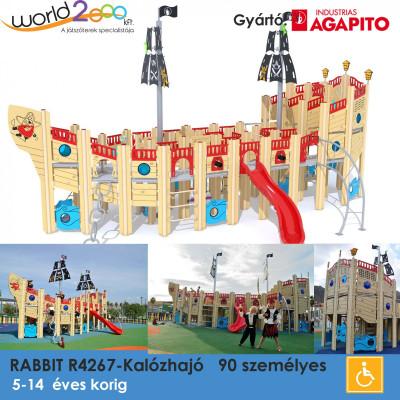 Kalózhajó mindenkinek játszótér, melynek célja a kreativitás fejlesztése. 11,7 méter hosszú és 8,5 méter széles, akár 90 gyermek is használhatja.  32 féle játékot élvezhetnek, amelyek közül sok interaktív. Többféle hozzáféréssel elátva.