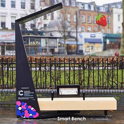 Smart Bench - ideális utcákhoz, terekhez, sétányokhoz és parkokhoz.