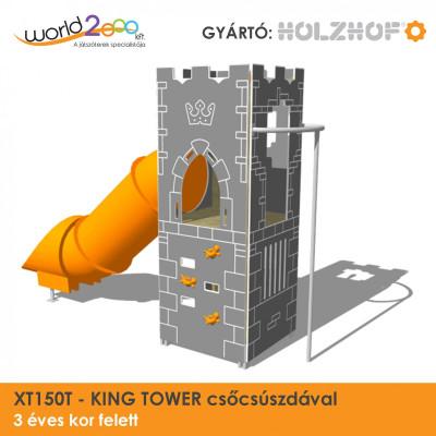 KING TOWER torony csőcsúszdával