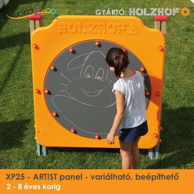 ARTIST panel - variálható, beépíthető