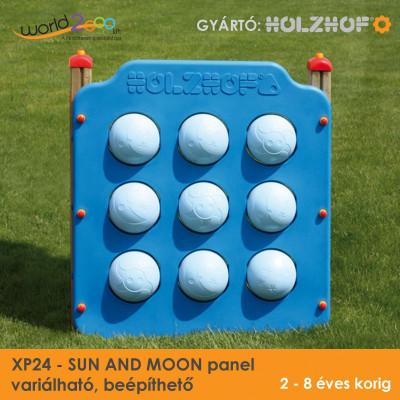 SUN AND MOON panel - variálható, beépíthető