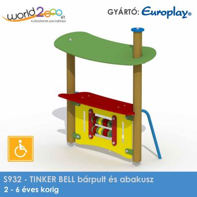 TINKER BELL bárpult és abakusz - akadálymentesített