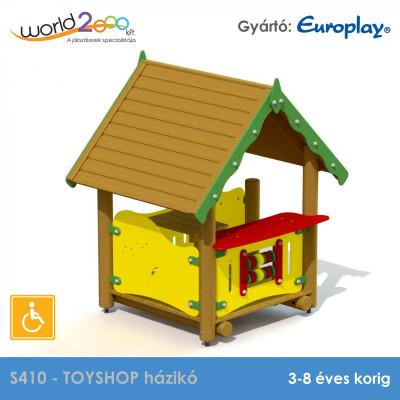 TOYSHOP házikó - akadálymentesített