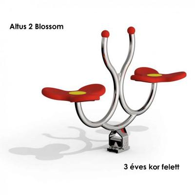 Altus 2 Blossom - az érintkező felületek kiváló minőségű puha gumiból készülnek, összekötő elemek tartós rozsdamentes acélból. Kiváló formatervezés