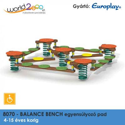 BALANCE BENCH Egyensúlyozó pad (több személyes) - akadálymentesített