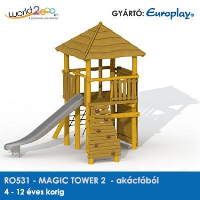 MAGIC TOWER 2 akácfából