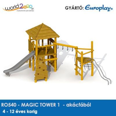 MAGIC TOWER 1 akácfából