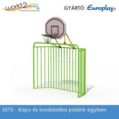 Kupu és kosárlabda palánk egyben