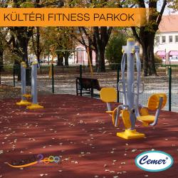 Kültéri fitness parkok
